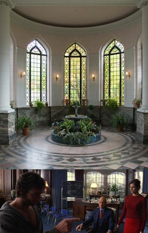 Phim X-Men đã có một vài cảnh quay tại bảo tàng Casa Loma ở thành phố Toronto, Canada.