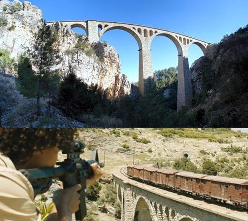 Cây cầu Varda Viaduct ở tỉnh Adana, phía nam Thổ Nhĩ Kỳ là nơi quay cảnh James Bond bị bắn nhầm khi đang đứng trên nóc tàu hỏa trong phim Skyfall.