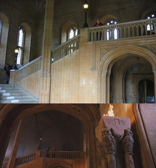 Ngôi trường pháp thuật Hogwarts trong phim Harry Potter được quay tại khuôn viên của Cao đẳng Christ Church, một trường thành viên của ĐH Oxford (Anh).
