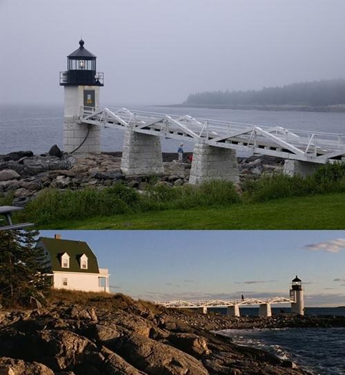 Ngọn hải đăng Marshall Point trên bến cảng Clyde thuộc tiểu bang Maine, Mỹ từng xuất hiện trong bộ phim Cuộc đời Forrest Gump được sản xuất năm 1994.
