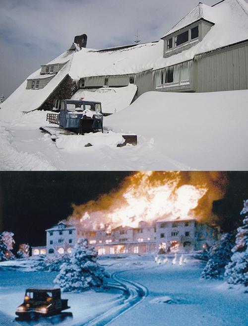 Khách sạn Overlook trong bộ phim kinh dị nổi tiếng The Shining trên thực tế là nhà nghỉ Timberline Lodge nằm trên ngọn núi Hood, cách phía đông tiểu bang Portland (Mỹ) khoảng 100km.