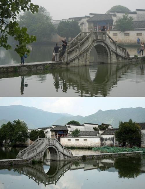 Ngôi làng Hồng Thôn từng là nơi ghi hình của bộ phim Trung Quốc nổi tiếng Ngọa hổ tàng long.