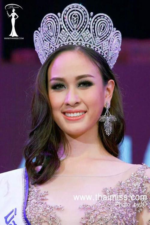 Cuộc thi Hoa hậu Hoàn vũ Thái Lan 2014 khép lại tối 17/5 tại thủ đô Bangkok. Người chiến thắng là Weluree Ditsayabut.