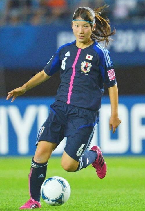 Cô gái 21 tuổi được giới chuyên môn đánh giá là ngôi sao tương lai của bóng đá nữ Nhật Bản.