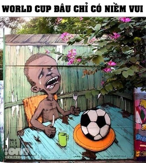 Góc khuất của World Cup 2014.