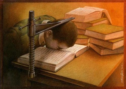 Giáo dục chỉ là khuôn thước.