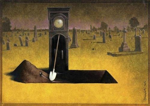 Thời gian cứ trôi qua và nấm mồ đang được dọn sẵn.