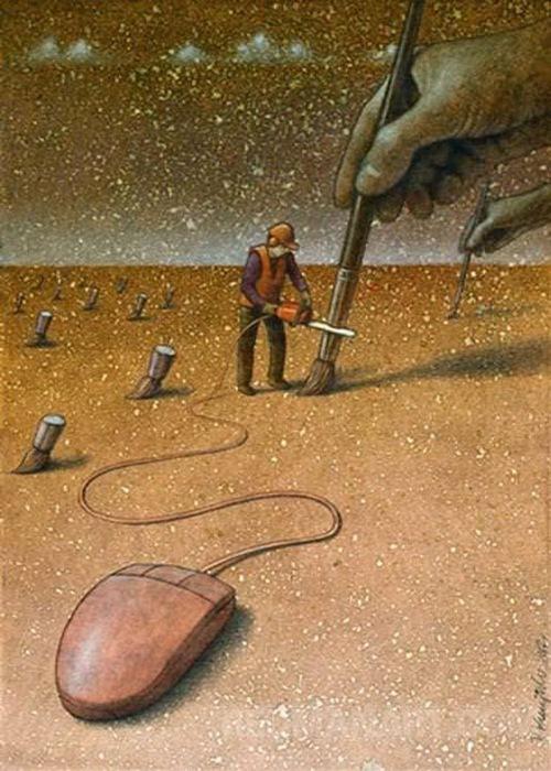 Công nghệ đang giết chết dần những ước mơ.
