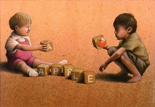 Ăn đi, táo đó.
