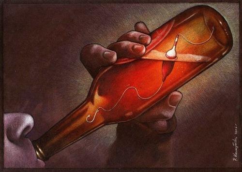 Cái giá phải trả cho những người nghiện đồ uống có cồn.