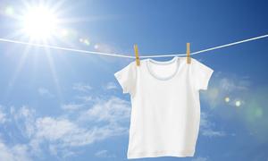 Tips: Bí kíp làm sạch quần áo màu trắng