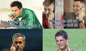 Các sao thi nhau 'đá đểu' Ronaldo sau trận thua bẽ bàng