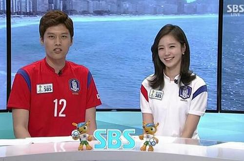 Jang Ye Won trở thành một trong những người đẹp nổi tiếng trong mùa World Cup năm nay.