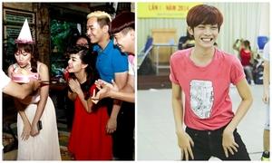 Hari Won đón sinh nhật bất ngờ, Đào Bá Lộc mướt mồ hôi tập nhảy