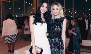 Yoon Ah nổi bật tại sự kiện Chanel