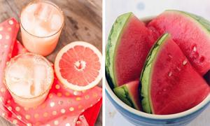 7 thực phẩm cấp nước tuyệt vời cho mùa hè