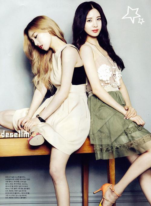 Điểm đặc trưng của các bức hình thời trang trên tạp chí Hàn là concept ảnh rất cầu kỳ, với màu sắc tươi sáng, không khí bay bổng lãng mạn cực kỳ được lòng phái nữ.