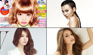 Khác biệt hay ho giữa tạp chí thời trang của 4 nước châu Á