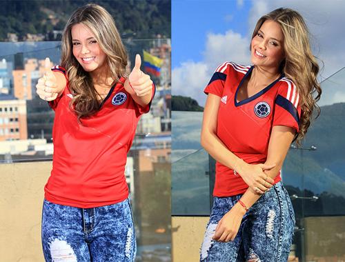 Alejandra không phải gương mặt xa lạ với người hâm mộ Colombia. Cô từng được một tờ tạp chí nước này bình chọn là một trong những nữ phóng viên thể thao hấp dẫn nhất.