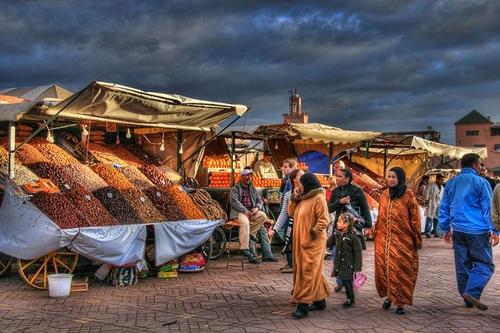 Marrakech (Morocco).