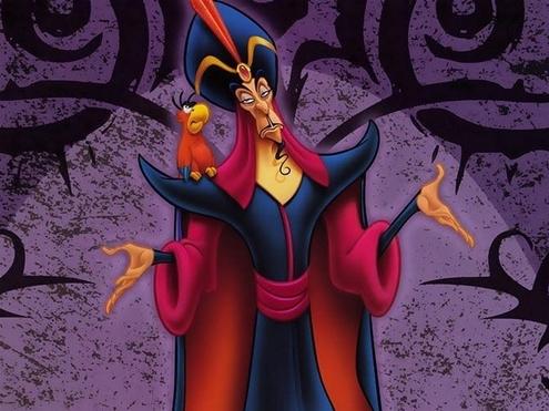 3. Nhân vật phản diện Jafar từng xuất hiện trong một tập phim của loạt phim hoạt hình Dũng sĩ Héc-quyn