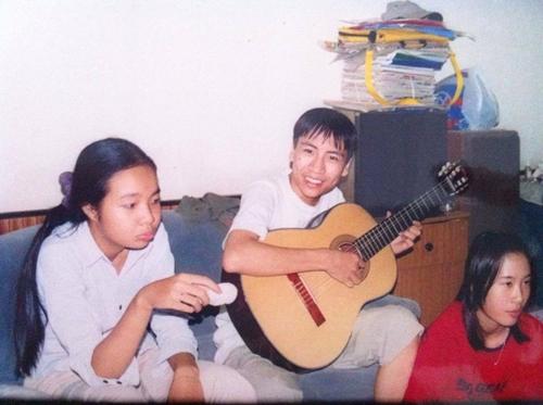Bức ảnh hiếm hoi thời niên thiếu của Toàn Shinoda khiến người xem thích thú nhận xét anh chàng là người hiền lành.
