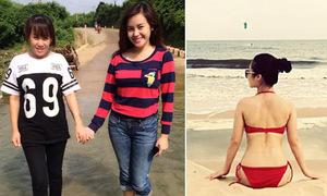 Facebook sao 29/7: Bà Tưng khoe mẹ trẻ như chị em, Hương Tràm gợi cảm trên biển