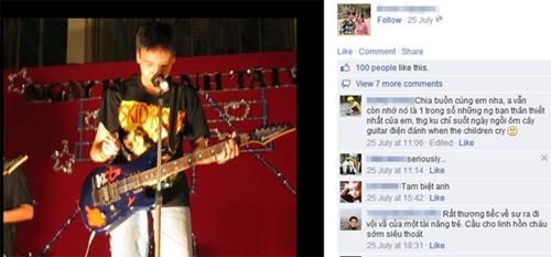 Hình ảnh Toàn Shinoda được chia sẻ trên trang cá nhân của tác giả.