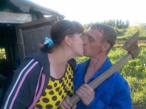 Không hôn là uy hiếp ngay.