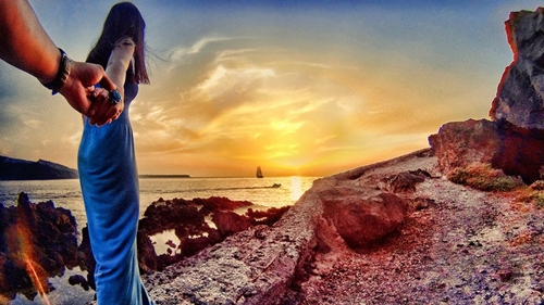 Ioa, Santorini.