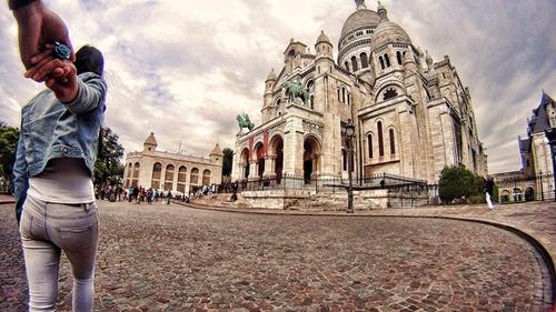 Phố Montmartre, Paris.
