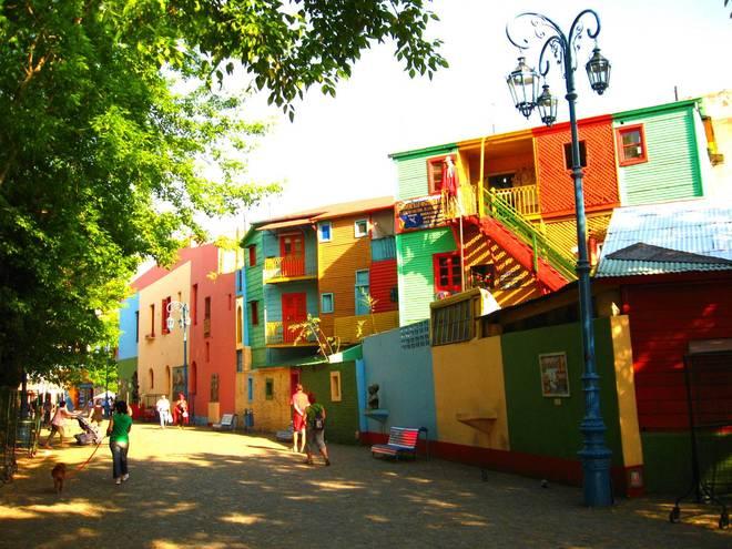 La Boca là điểm đến nổi tiếng ở Buenos Aires, Argentina.
