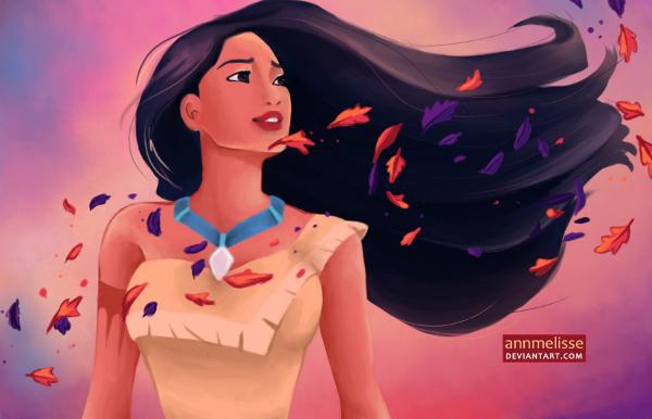 Pocahontas là nàng công chúa duy nhất được xây dựng trên một nhân vật có thật sống vào cuối những năm 1500.