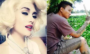 Sao Việt 3/9: Hoàng Yến hóa Marilyn Monroe, Hoài Lâm xăm 'sình'