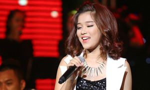 Hoàng Yến Chibi bùng nổ ở 'Bài hát yêu thích'