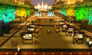 Phối cảnh tuyệt đẹp quảng trường đi bộ Nguyễn Huệ trong tương lai