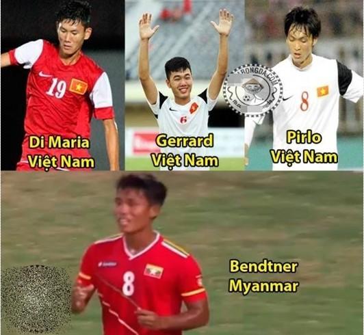 Những cái tên vụt sáng của U19 Việt Nam được ví với các siêu sao bóng đá thế giới.