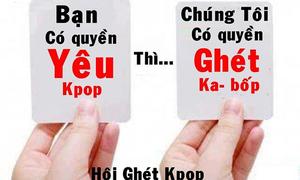 7 lý do để ghét Kpop của các anti-fan