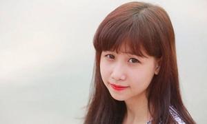 Huyền Trang, nàng mẫu mơ làm cô giáo tiếng Anh