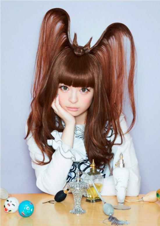 Công chúa Kawaii: những mốt thời trang tóc độc dị chỉ có tại Nhật Bản