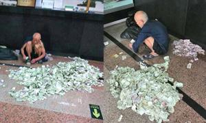 Ông lão ăn xin thu nhập gần 35 triệu đồng/tháng
