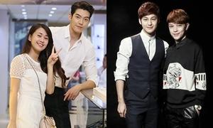 3 hot teens Việt sánh đôi cùng mỹ nam Hàn khiến fans ghen tỵ