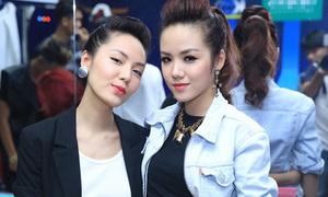 Em gái Phương Linh xinh đẹp lấn lướt chị gái