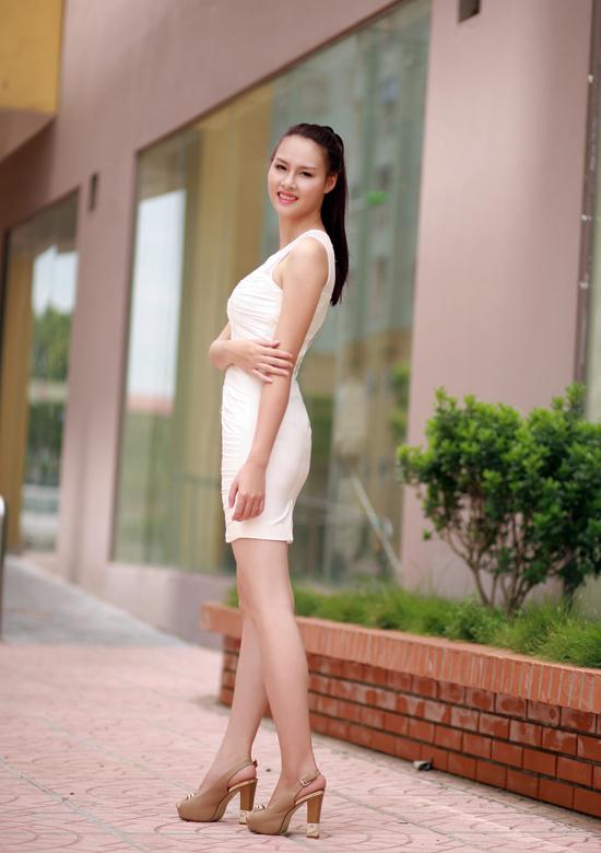Đến với cuộc thi Hoa hậu Việt Nam 2014, Trang hy vọng mình có thể học hỏi được nhiều điều và cũng để thực hiện ước mơ được tham dự một cuộc thi nhan sắc uy tín nhất Việt Nam.