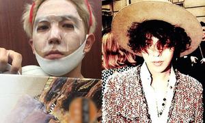 Sao Hàn 2/10: Kang In đắp mặt nạ V-line, G-Dragon tóc xoăn tít