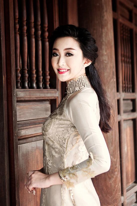 Nguyễn Thị Phương Anh, 19 tuổi, sinh viên Khoa Ngoại ngữ Kinh tế, Trường Đại học Kinh tế Quốc dân cũng là một ứng viên đang được đánh giá cao ở vòng sơ khảo của cuộc thi.