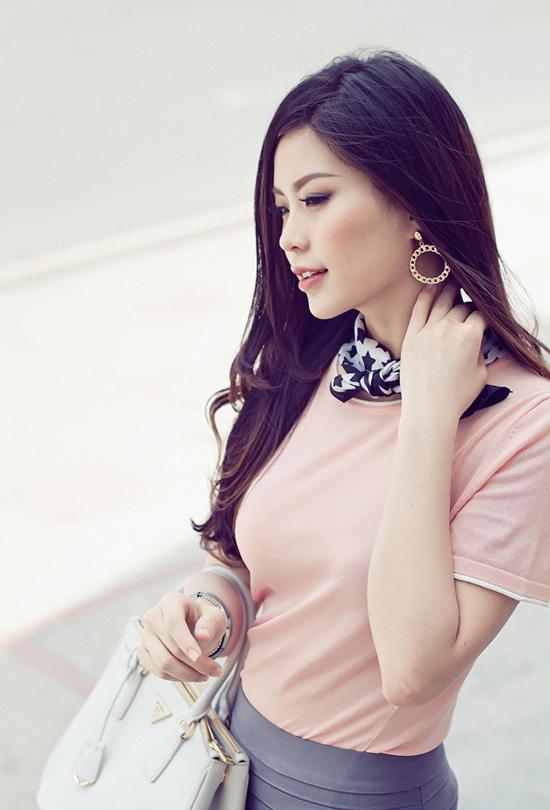 Nguyễn Lâm Diễm Trang, 23 tuổi, quê Vĩnh Long đăng ký dự thi Hoa hậu Việt Nam ở những ngày cuối cùng của giai đoạn nhận hồ sơ.
