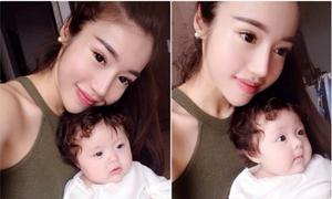 Elly Trần khoe con gái, bị đồn mang thai hộ hot nhất tuần