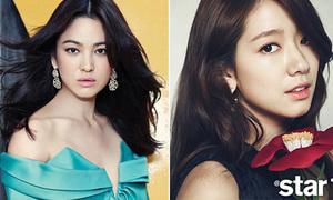Song Hye Kyo, Park Shin Hye khoe vẻ thanh tao như nữ thần
