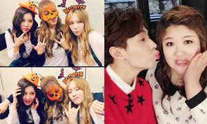 Sao Hàn 21/10: TaeTiSeo nhí nhố đón Halloween, Henry khoe bạn gái